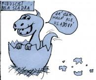 Školní noviny, Příbram: komiks Minulost a budoucnost