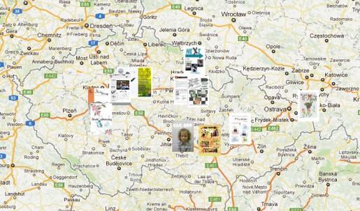 Interaktivní mapa vítězů soutěže Náš časopis 2011