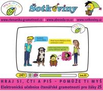 Elektronická učebnice čtenářské gramotnosti pro žáky ZŠ